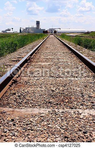 Train tracks to mine site - csp4127025