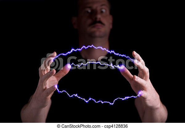 Stock Image of Mad sci...