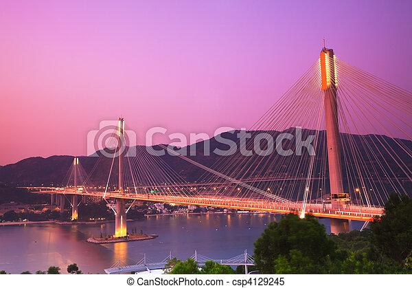 Ting Kau Bridge - csp4129245