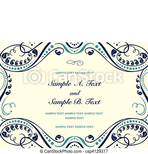 Vector Formal Background Frame - csp4129317