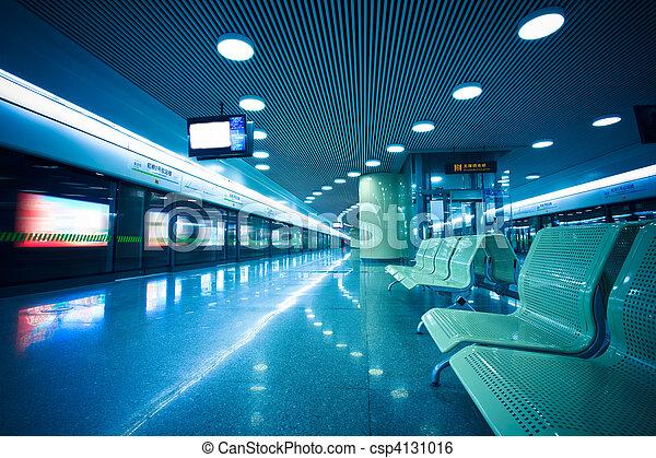bench of the subway - csp4131016
