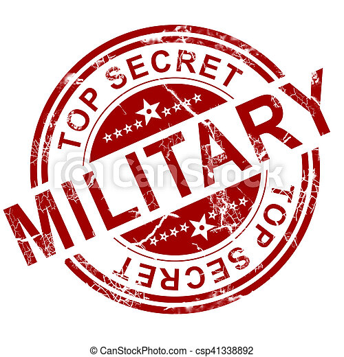 stämpel, militär, röd - csp41338892