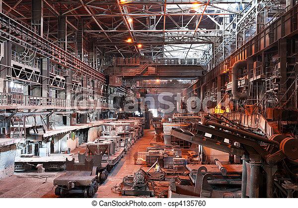 Metallurgical plant workshop - csp4135760