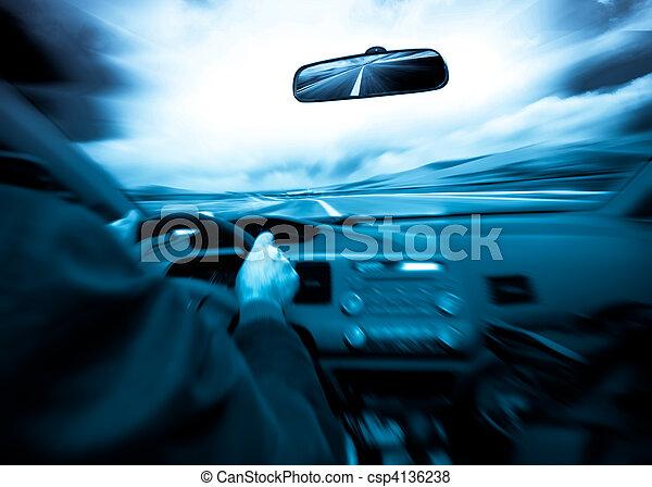 speed car - csp4136238