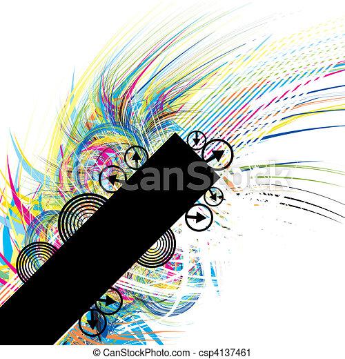 Urban banner - csp4137461