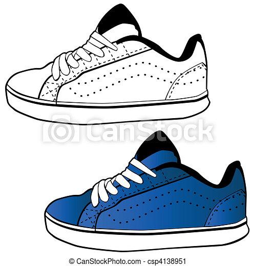 Running Shoe - csp4138951