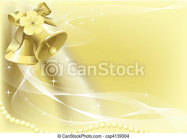 Wedding Bells - csp4139304