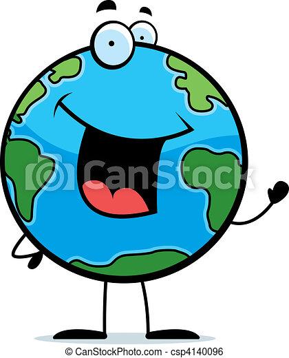Earth Waving - csp4140096