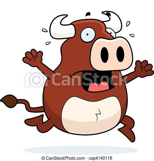 Bull Panic - csp4140118