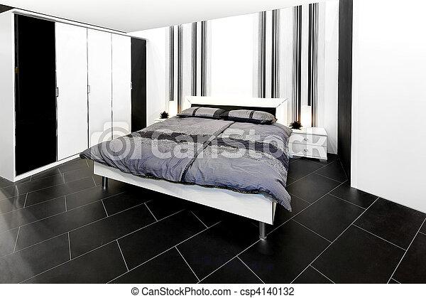 rangé, chambre à coucher - csp4140132