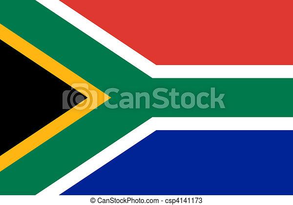 South Africa Flag - csp4141173