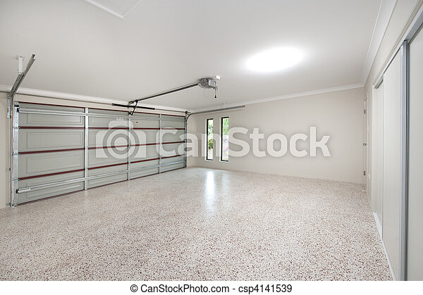 Stock photographs of modern garage interior the inside for Interieur garage