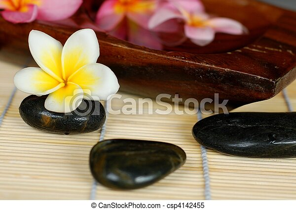 Balinese Spa Interior - csp4142455