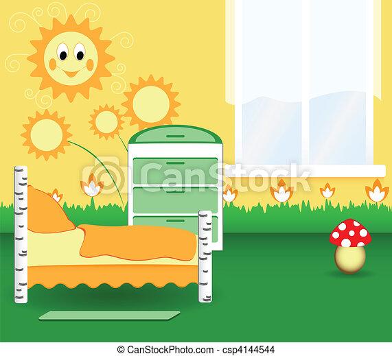 Nursery bedroom - csp4144544