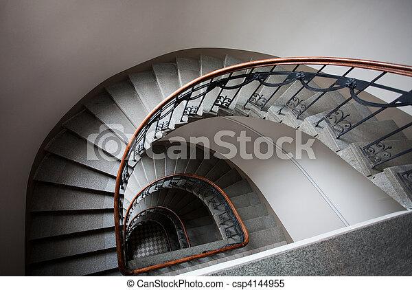 Spiral staircase - csp4144955