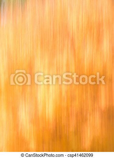 Autumn Blur - Oranges and Yellows - csp41462099