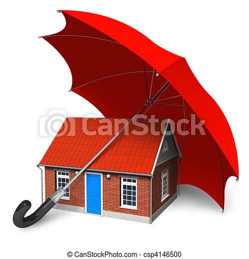 Home security concept - csp4146500