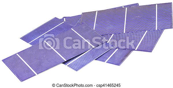 Photo-voltaic cells - csp41465245