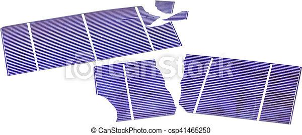 Broken Solar Cells - csp41465250