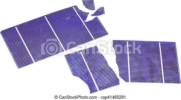 Broken Solar Cells - csp41465291