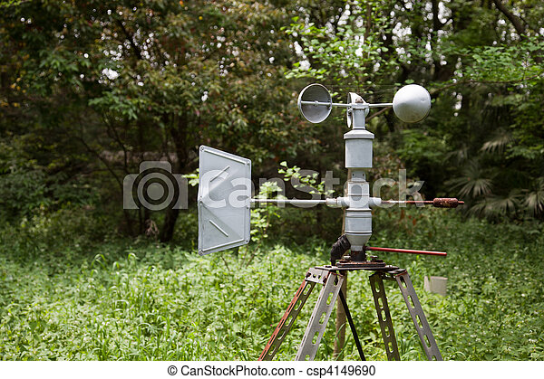 Anemometer ( meteorology equipment ) - csp4149690