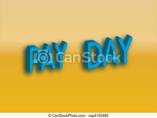 pay day - csp4150480