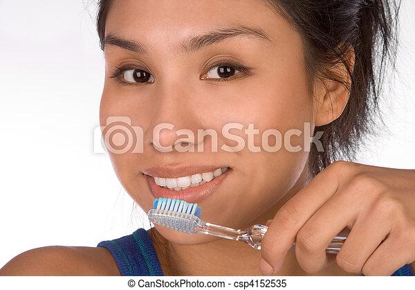Oral hygiene - csp4152535