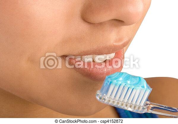 Oral hygiene - csp4152872