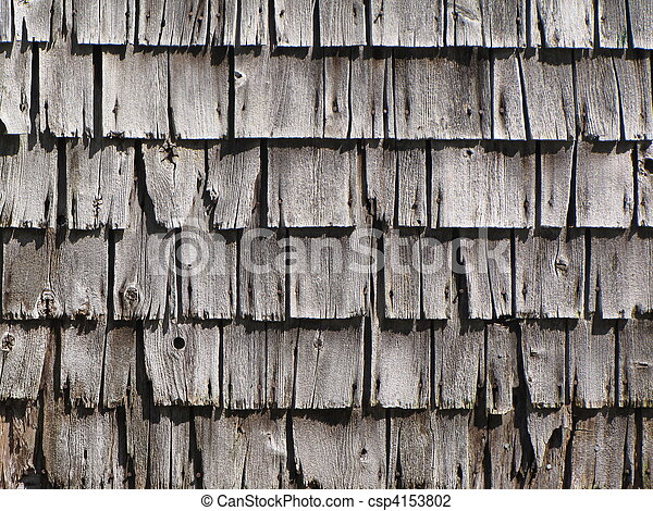 Stock Photo Of Weathered Cedar Shingles Shingles On Old
