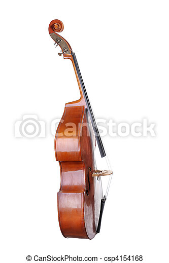 Images of the classical contrabass. - csp4154168