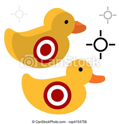 Duck Shooting Target - csp4154756