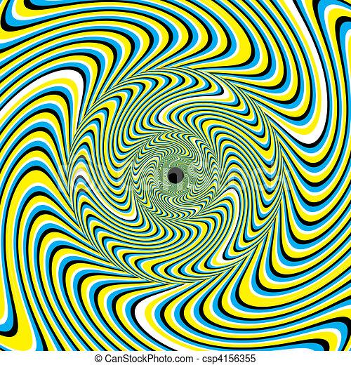 Swirlpool (motion illusion) - csp4156355