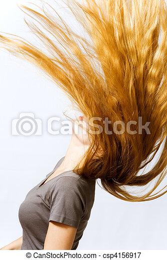 Amazing hair - csp4156917