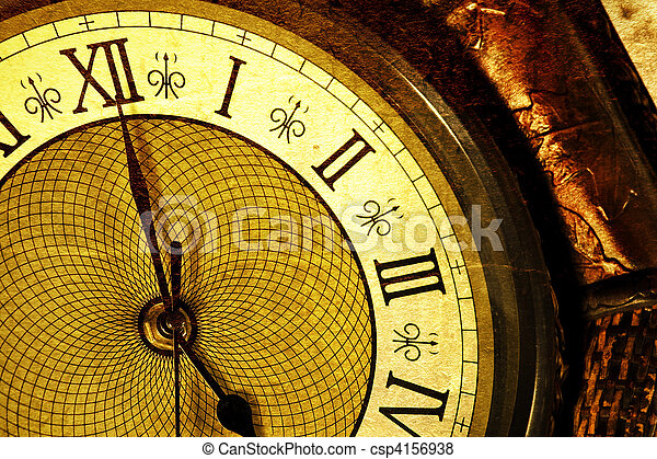Antique clock - csp4156938