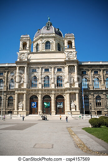 Museum of fine arts, Vienna - csp4157569