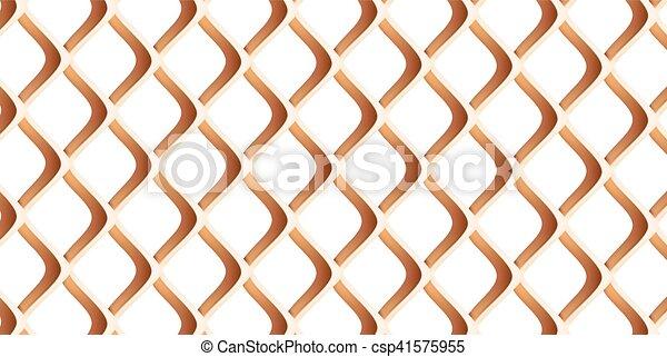 metal grille close up - csp41575955