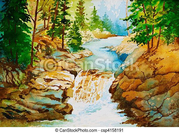 Nature\'s Serenity - csp4158191