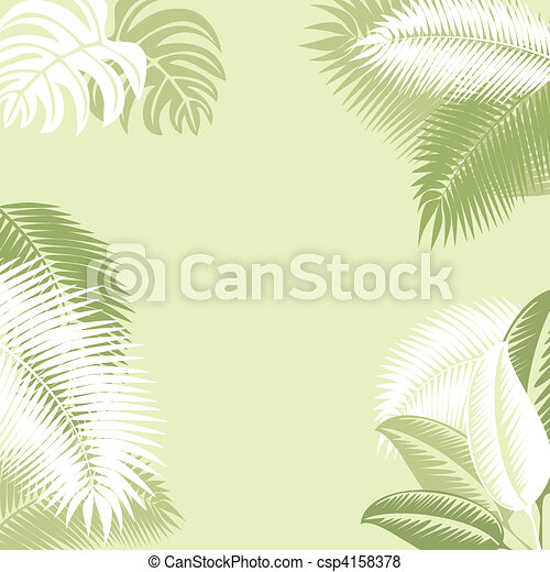Tropical Background - csp4158378