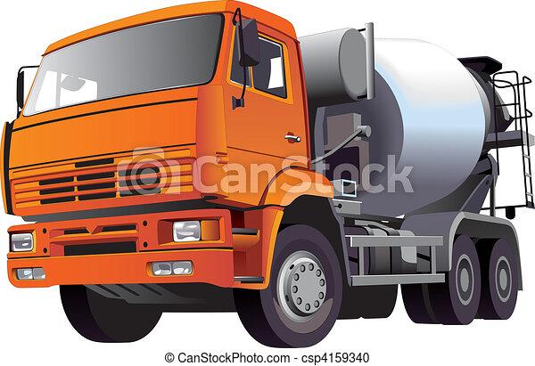 Concrete Mixer - csp4159340