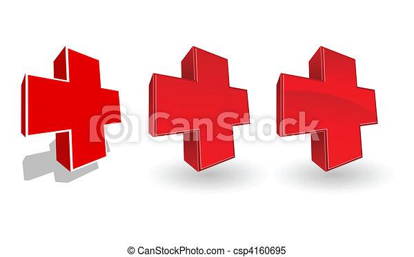 Set of vector medicine icons - csp4160695