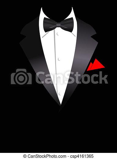 Vector illustration of elegant suit - csp4161365