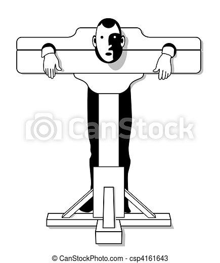 Dessins de appareil moyen ge torture moyen ge torture appareil csp4161643 - Clipart tortue ...