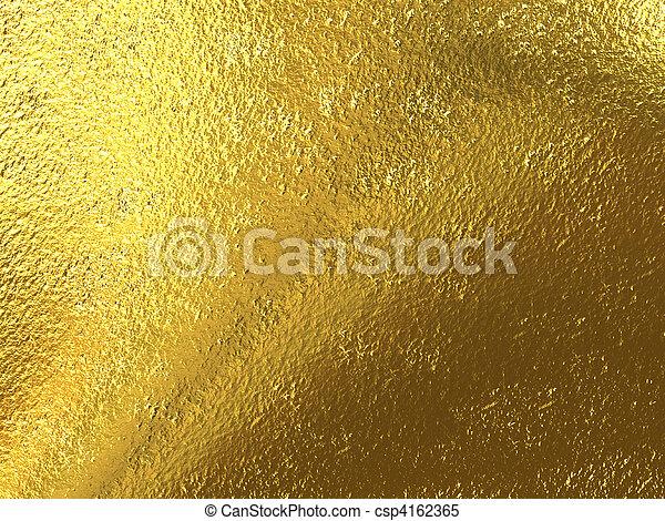 Gold foil - csp4162365