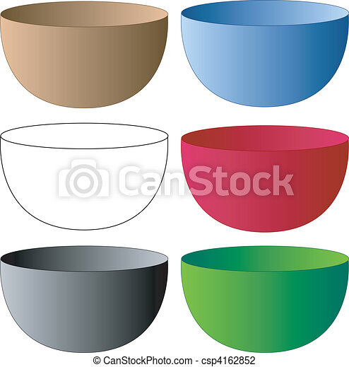 Set of Bowls - csp4162852