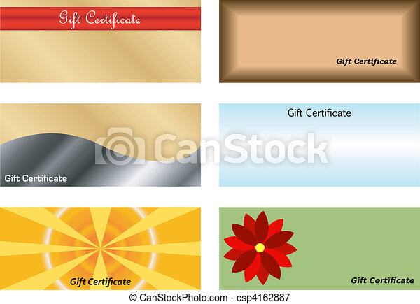 Set of Gift Certificates - csp4162887