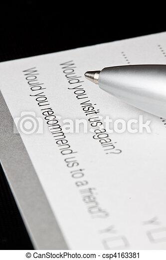 Registration form - csp4163381