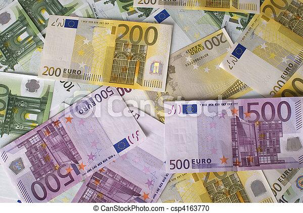 photographies de 200 gros plan 100 argent billets banque 500 euro csp4163770. Black Bedroom Furniture Sets. Home Design Ideas