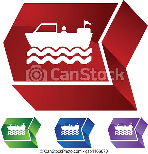 Motor Boat - csp4166670