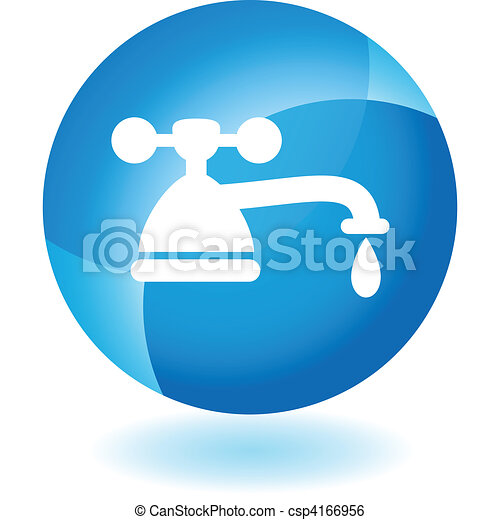 Water Faucet Drip - csp4166956