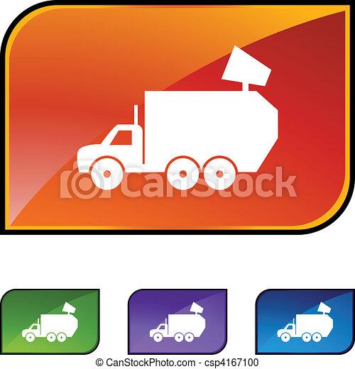 Garbage Truck - csp4167100